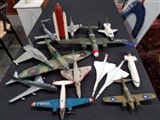 Sale 8809B - Lot 649 - Box of Plastic Model Plane Parts