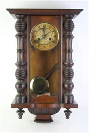Sale 8823 - Lot 49 - Early Wall Clock In The Victorian Manner