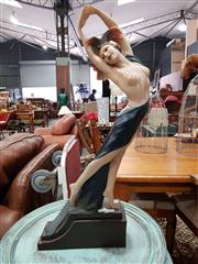 Sale 8889 - Lot 1071 - Statue Of Dancing Female