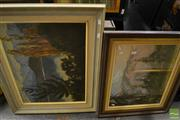 Sale 8464 - Lot 2083 - Group of (2) Original Artworks by New Zealand Artists Geoffrey Davis and Richard Pike, various sizes