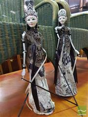 Sale 8495F - Lot 1039 - Pair of Marionette Puppets