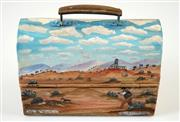 Sale 8538 - Lot 596 - Howard William Steer (1947 - ) - Off to Work, Broken Hill 19 x 28cm