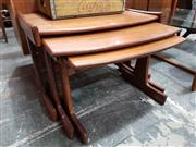 Sale 8741 - Lot 1024 - Quality G Plan Teak Nest of Tables