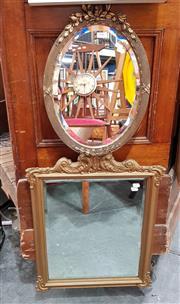 Sale 8822 - Lot 1156 - Gilt Framed Bevelled Edge Mirrors (2)