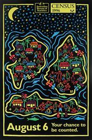 Sale 8992 - Lot 597 - Michael Callaghan (1952 - 2012) - Census - Torres Strait Island,1996 sheetsize: 72 x 47 cm (frame: 87 x 62 x 4 cm)