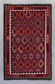 Sale 8499C - Lot 66 - Afghan Maymana Kilim 255cm x 165cm