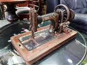 Sale 8580 - Lot 1075 - Cased Sewing Machine