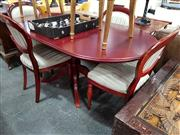 Sale 8680 - Lot 1095 - Timber Five Piece Dining Setting