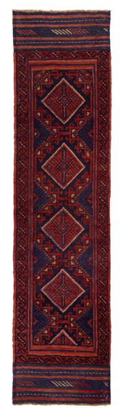 Sale 8715C - Lot 182 - A Persian Meshvani Village Rug, Wool On Cotton Foundation Classed As Tribal Sumak, 226 x 57cm