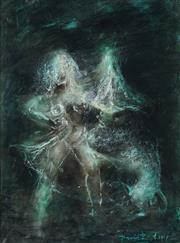 Sale 8773 - Lot 556 - David Boyd (1924 - 2011) - Soho Dancer, 1967 40 x 30cm