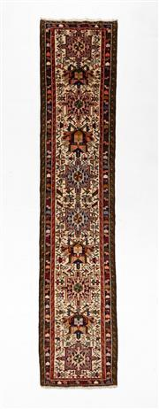 Sale 8740C - Lot 50 - A Persian Gharaje 100% Wool Pile, 384 x 80cm