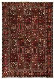Sale 8780C - Lot 239 - A Persian Bakhtiyari And Classic Garden Design, 100% Wool On Cotton, Classed As Prerevolution Weave, 296 x 205cm