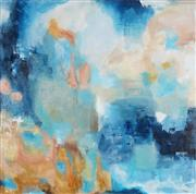 Sale 9042A - Lot 5057 - Robyn Bernitz - Blue Sky Dreaming 102 x 102 cm
