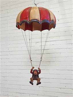 Sale 9146 - Lot 1041A - Parachuting clown