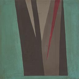 Sale 9170A - Lot 5003 - JOHN DALLWITZ (1941 - ) Fern Gorge oil on board 45.5 x 45.5 cm (frame: 52 x 52 x 4 cm) inscribed and titled verso