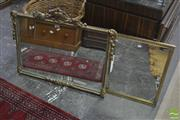 Sale 8310 - Lot 1620 - Two Gilt Framed Mirrors