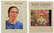 Sale 8392A - Lot 2 - (2 volumes) KLEPAC, Lou: Nora Heysen & Judy Cassab: Artists and Friends