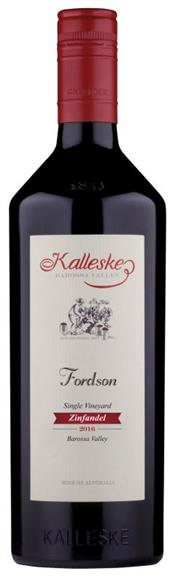 Sale 8520W - Lot 22 - 12x 2016 Kalleske 'Fordson' Zinfandel, Barossa Valley This wine is 100% Organic / Biodynamic as certified by Australian Certified...