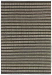 Sale 8651C - Lot 9 - Colorscope Collection; Indoor/Outdoor, Olefin/Polyprop - Orange Stripe Rug, Origin: India, Size: 160 x 230cm, RRP: $669