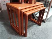 Sale 8839 - Lot 1002 - Danish Teak Nest of Tables
