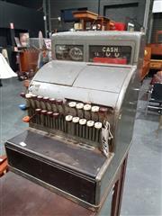 Sale 8700 - Lot 1059 - Cast Iron Shop Till