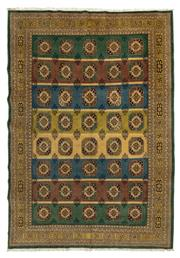 Sale 8780C - Lot 240 - A Very Fine Persian Turkaman, Wool On Cotton Foundation Classed As Tribal Rugs, 295 x 204cm
