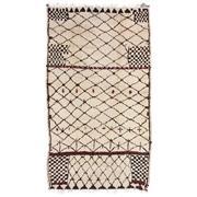 Sale 8860C - Lot 17 - A Moroccan Vintage Berber, in Handspun Wool 300x160 cm