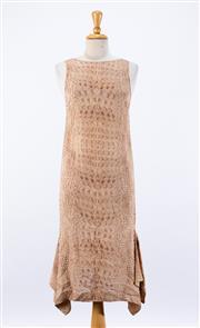 Sale 8891F - Lot 20 - A Willow printed silk sleeveless column dress, size 8