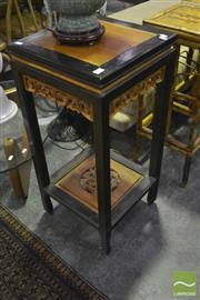Sale 8341 - Lot 1014 - Carved Oriental Plant Stand