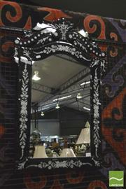 Sale 8352 - Lot 1014 - Venetian Style Mirror