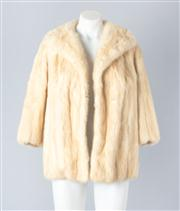 Sale 8828F - Lot 18 - A Palomino Mink Jacket With Shawl Collar, Size Large