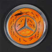 Sale 8881 - Lot 517 - Kevin Charles (Pro) Hart (1928 - 2006) - The Feast 20 x 20 cm