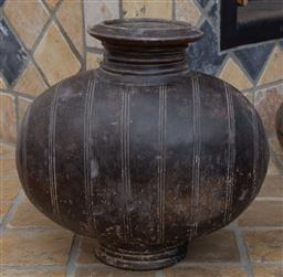 Sale 9191H - Lot 12 - Ceramic potted vase, H 31 cm