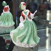 Sale 8336 - Lot 11 - Royal Doulton Figure Pretty Ladies Collection Christmas Day