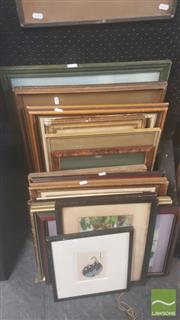 Sale 8446 - Lot 2077 - Collection of Paintings, Prints, etc