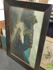 Sale 8449 - Lot 2089 - John Hutchins Framed Oil on Board Painting; signed Lower Left
