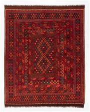 Sale 8740C - Lot 53 - An Afghan Hand Woven Kilim 100% Wool, 299 x 240cm
