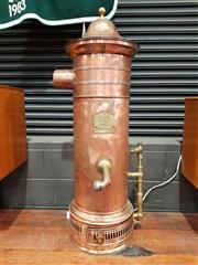 Sale 8782 - Lot 1025 - Copper Hot Water Service LOmnium no72155