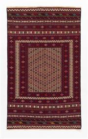 Sale 8790C - Lot 87 - A Very Fine Persian Sumak Hand Woven Wool, 295 x 120cm