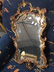 Sale 8822 - Lot 1762 - Carved Timber Framed Mirror