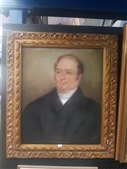 Sale 8833 - Lot 2003 - A C19th Portrait by an Unknown Artist, 78 x 68cm