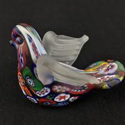 Sale 8402D - Lot 90 - Millefiori Art Glass Dove (Height - 5.5cm)