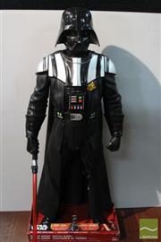 Sale 8494 - Lot 75 - Darth Vader Battle Buddy Figure (H: 124cm)