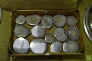 Sale 8518 - Lot 2327 - Box Quartz /Agate Polished Geodes