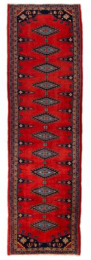 Sale 8715C - Lot 132 - A Persian Weiss From Central Of Iran From Sarough, 100% Wool, 314 x 93cm