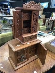 Sale 8822 - Lot 1801 - Small Timber Cabinets (2)