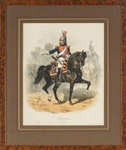 Sale 8838A - Lot 5130 - Francois Hippolyte Lalaisse (1812 - 1884) - Type Militaires, Garde de Paris 38 x 29cm