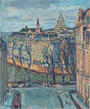 Sale 8867A - Lot 5058 - Daniel Pata (1952 - ) - Paris 1996 61 x 50.5cm