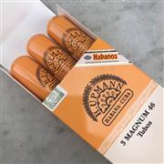 Sale 9017W - Lot 43 - H. Upmann Magnum 46 Cuban Cigars - pack of 3 tubos, removed from box stamped October 2016