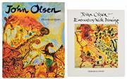 Sale 8392A - Lot 13 - (2 volumes) HART, Deborah: John Olsen &  John Olsen: Encounters with Drawing